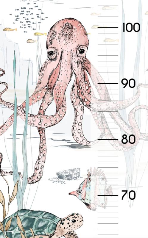 Growth Sticker Underwater Wonders