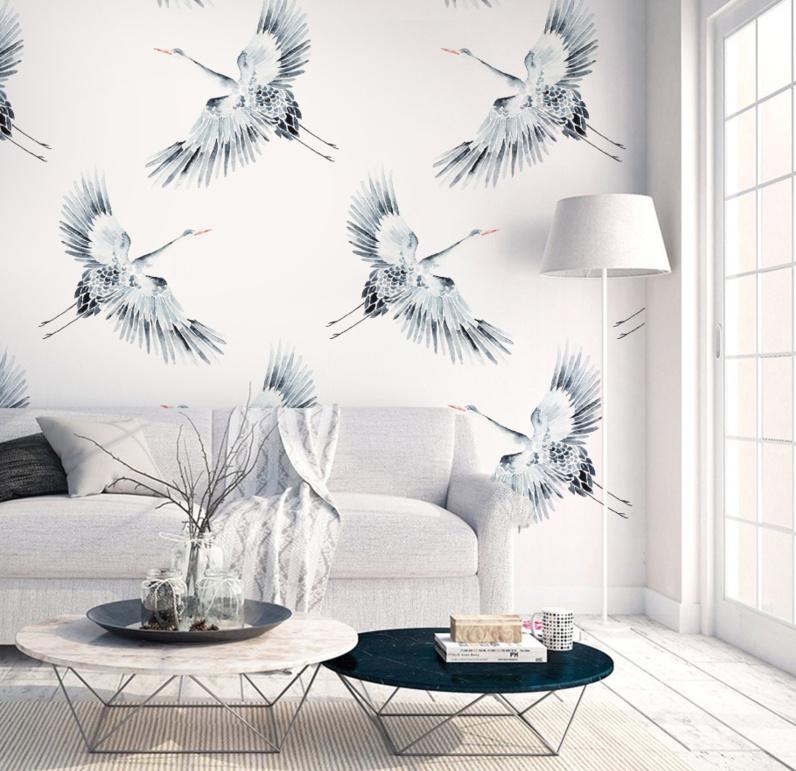 Wallpaper - CRANES