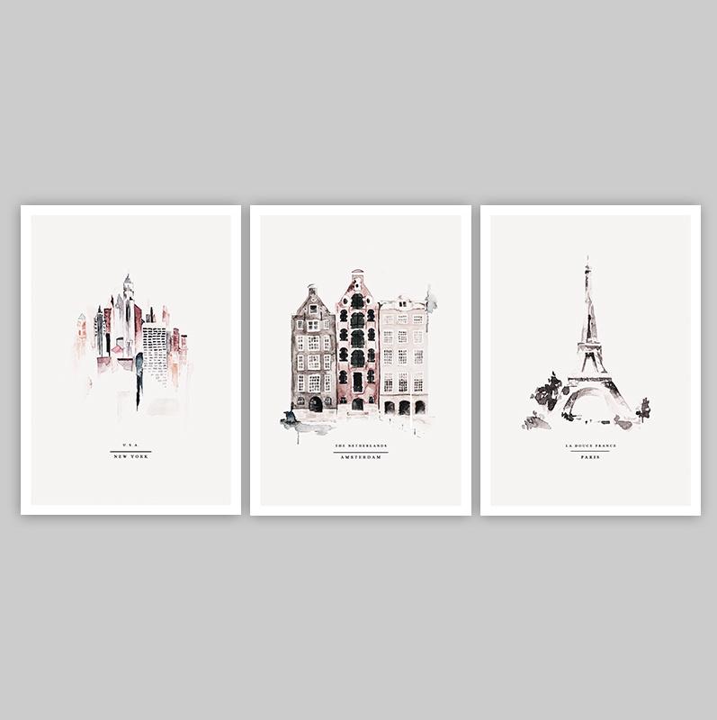Ansichtkaarten  - CITY
