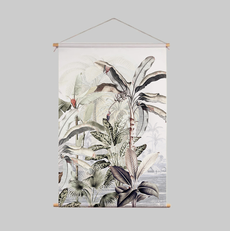 Textielposter - DREAMY JUNGLE SOFT