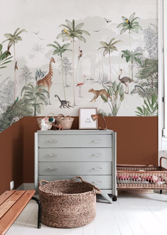 Jungle wallpaper - Full wall sized image - WILDLIFE'S PLAYGROUND