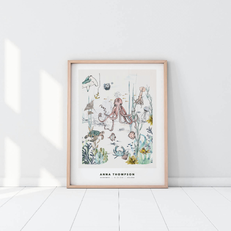 Gepersonaliseerde Poster - Underwater World