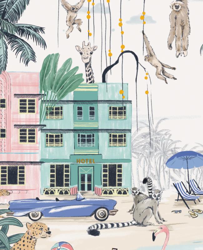 Gepersonaliseerde Poster - Miami Beach