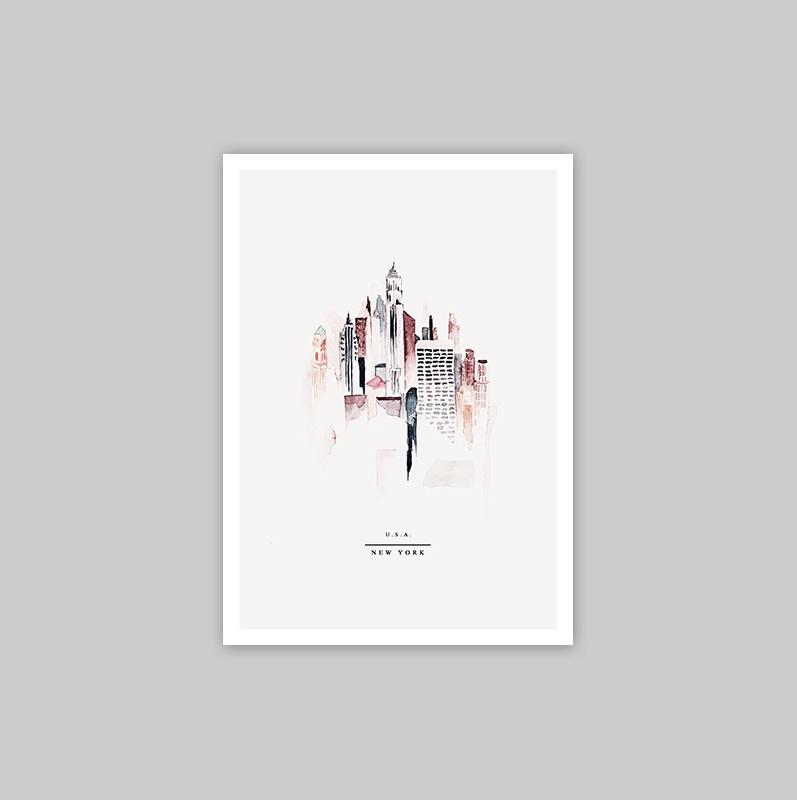 Ansichtkaart - NEW YORK