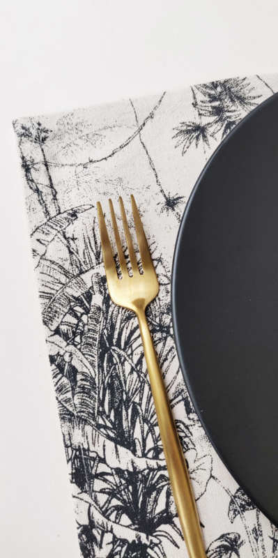 Set van 4 placemats - RAINFOREST
