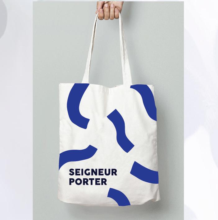 Shopper  - Graphic Seigneur Porter