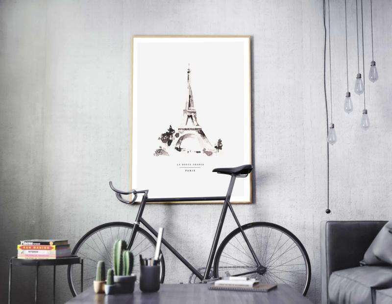 Poster - PARIS - A5, A4, A3, A2