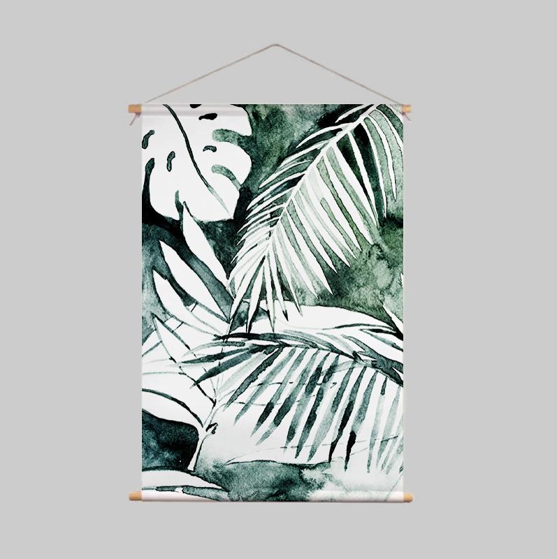 Textile Poster - MYSTIC JUNGLE