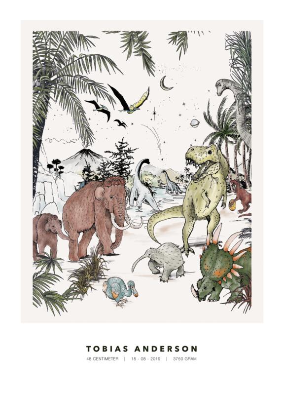 Gepersonaliseerde Poster - Prehistoric