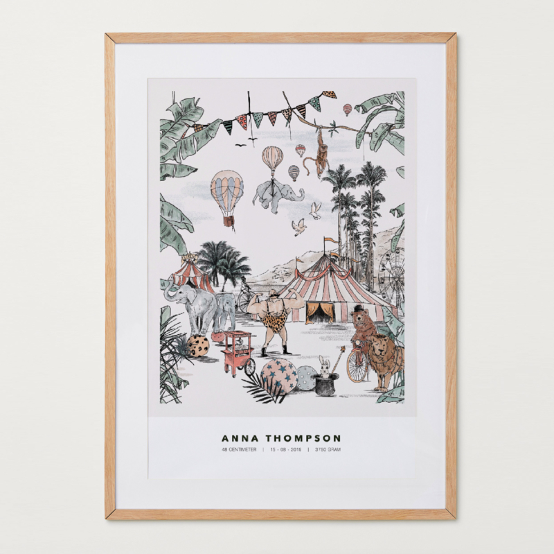 Gepersonaliseerde Poster - Cirque du Fantasy