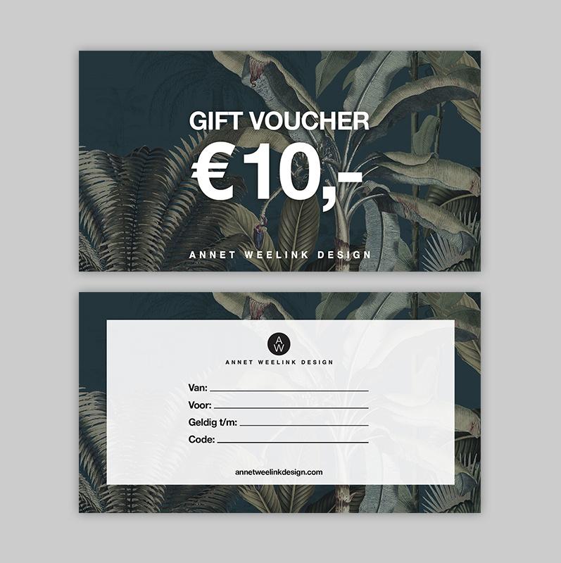 Tegoedbon - 10 euro