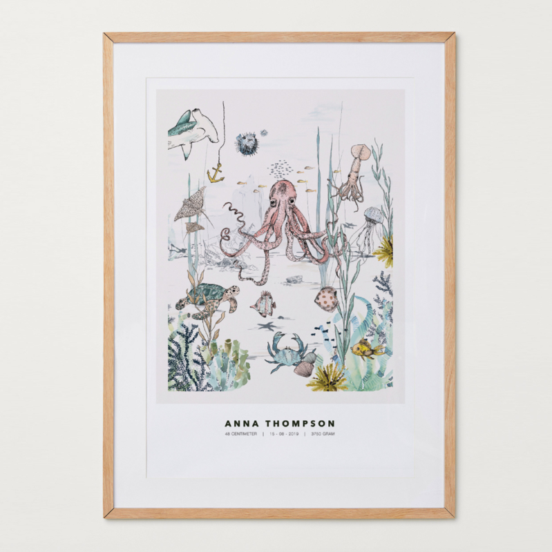 Gepersonaliseerde Poster - Underwater World