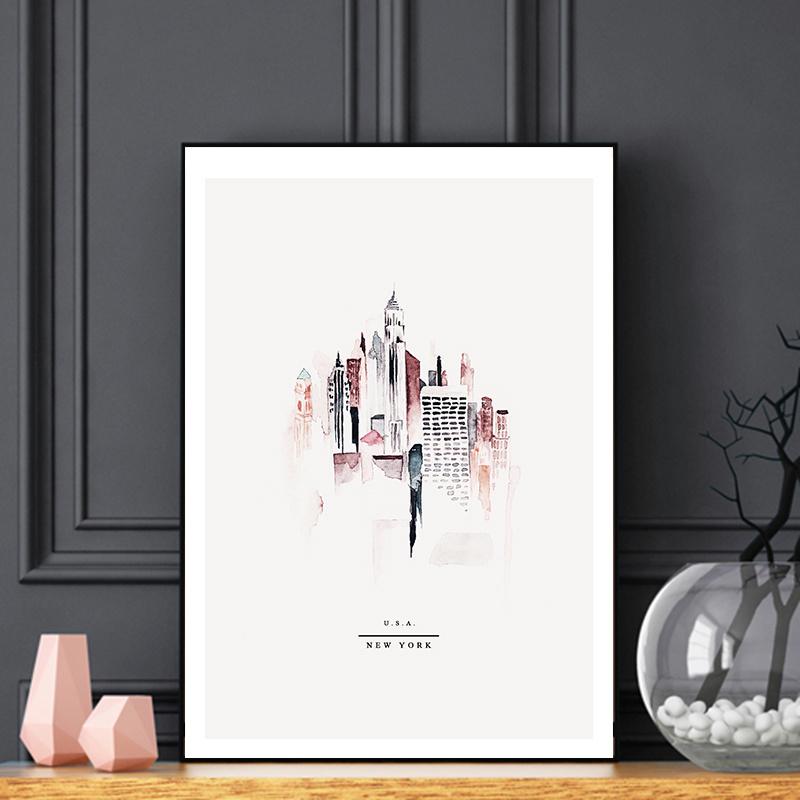 Poster - NEW YORK  - A5, A4, A3, A2