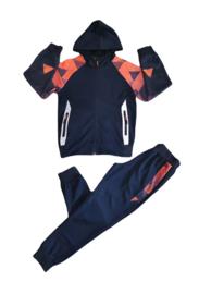 Sporty | Blue/Orange
