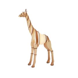 Timber Lamp - Giraffe