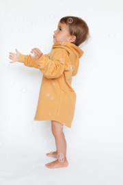 Baggy Hoodie Dress | Ochre Yellow | Handmade