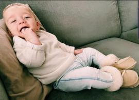 Leren babyslofjes