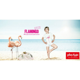 Play & Go Opbergzak Flamingo