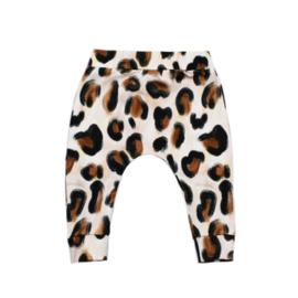 Slim fit broekje | Sandy Leopard | Handmade