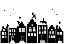 ch-lifestyle Statische raamsticker Sint L Statische raamsticker Sint L