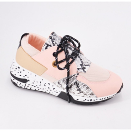 Dots pinky sneakers
