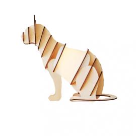 Timber Lamp - Cat