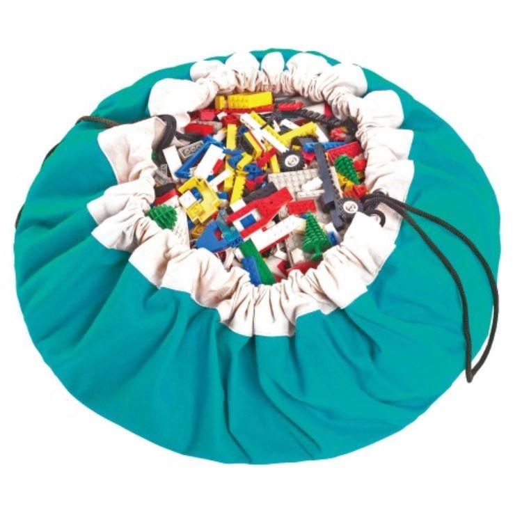Play & Go Opbergzak Turquoise