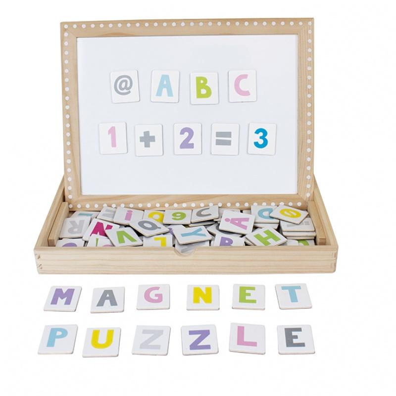 Jabadabado Magneet puzzel ABC