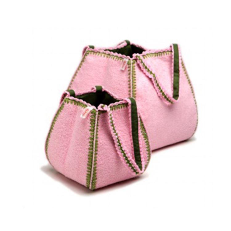 Commode mandje - Fabs World - pink