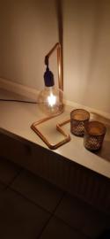 """Lamp """"Zara"""" Handmade by Uniek Ladies"""