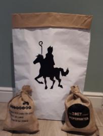 Paard van Sinterklaas Paperbag van @KleinGeluk