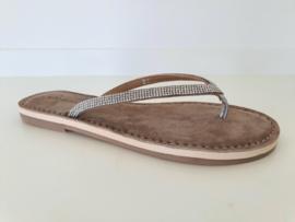 Slipper Che Mendez 182014-A Silver /Taupe
