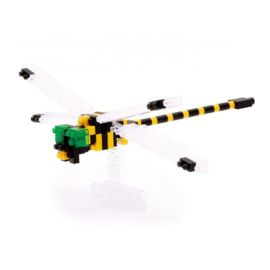 'Golden-ringed Dragonfly' (Libelle) Japans mini lego - Nanoblocks