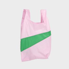 Shoppingbag M 'pale pink & wena' - Susan Bijl