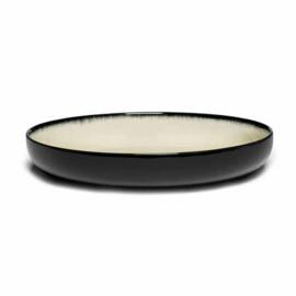 Servies Dé - Diep bord 24 cm Off-White/Black var D - Ann Demeulemeester Serax