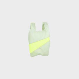 Shoppingbag S 'Pistachio & Fluo Yellow'  - Susan Bijl