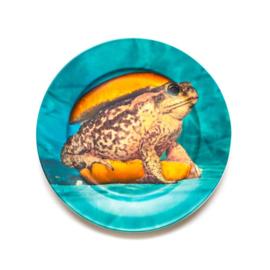 Seletti wears Toiletpaper Plate: Toad / Pad -  bord met print