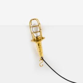 Gouden 'Fingers' Industriele Hanglamp - Seletti