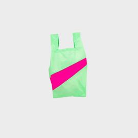 Shoppingbag S 'error & pretty pink'  - Susan Bijl