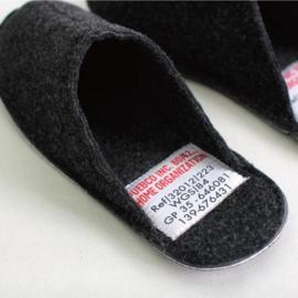 Wollen slippers / pantoffels - Puebco