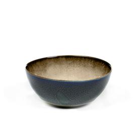 Kommetje 10,8 cm Misty Grey & Dark Blue - Serax / Anita Le Grelle