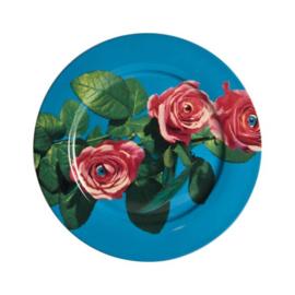Seletti wears Toiletpaper Plate: Rose -  bord met print