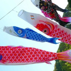 Koinobori Japanse vis vlag 150 cm