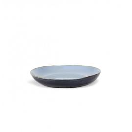 Serveerbord 29,5 cm Smokey Blue & Dark Blue - Serax / Anita Le Grelle
