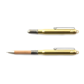 Japanse messing pen / Brass Balpoint Pen Solid Brass - Traveler's Company