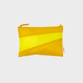 The New Pouch M 'helio & fluo yellow' - Susan Bijl