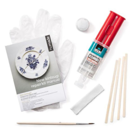 New kintsugi lijm repair kit goud