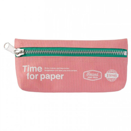 Etui 'Time for paper' Light Pink - Mark's Inc.