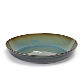 Diep bord 23,5 cm Smokey Blue & Dark Blue - Serax / Anita Le Grelle