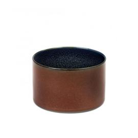 Beker cylinder laag Rust & Dark Blue - Serax / Anita Le Grelle